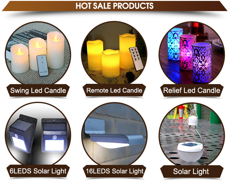 Electronic solar garden light