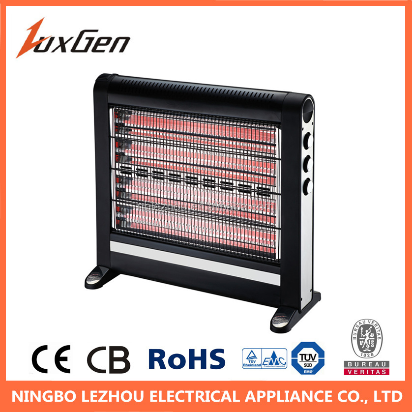 2400W with CB CE electric portable quartz home heater for living room