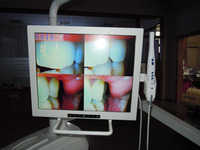 dentistry imaging system /Intra oral camera/17 inch Intra oral endoscope biult-in dental unit/multimedia Orall camera