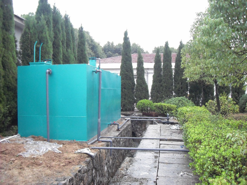 efficient mobile water treatment plant for small sewage treatment