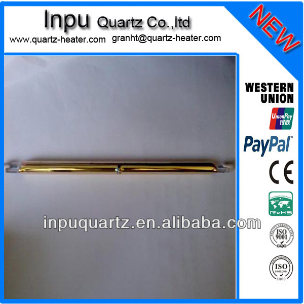 gold reflector infrared heating lamp