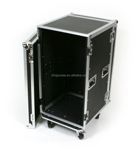 "20 Space Amp ATA Flight Road Rack Case 20"" Deep with 4"" Caster Wheels"