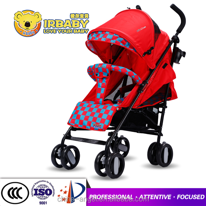 Adjustable backrest baby stroller luxury travel system portable umbrella stroller baby buggy accessories