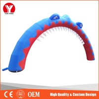 cheap Lovely Whale inflatable Festival arches for Sale