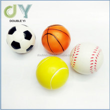 Wholesale child sports Toys ball PU foam sponge stretch ball PU Bouncy ball