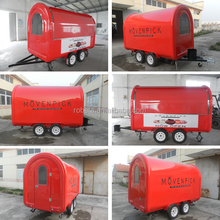 Manufacture Customized popcorn food truck for sale/food warmer truck