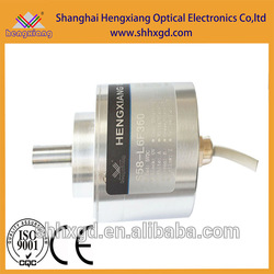 hengxiang absolute rotary encoder Spiral Shaft Encoder Absolute Rotary Textile Machine Sensor 9bit CW rotation