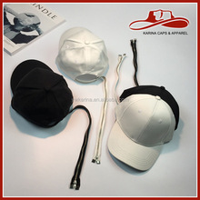 High demand import products adustable promotional blank black baseball cap