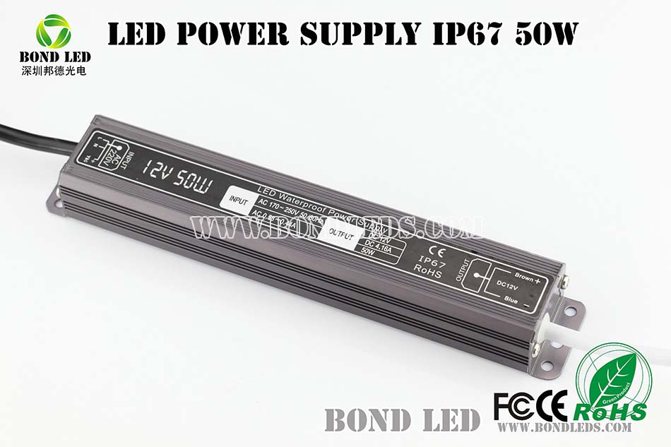 Factory outlet 60w 5a constant voltage led driver waterproof 12v power supply