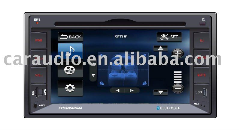 CAR DVD PLAYER with GPS/BLUETOOTH/DVD/VCD/CD/MP4/MP3/mp5