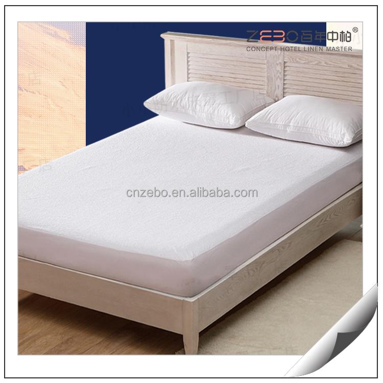 TPU material Moisture absorption waterproof hotel mattress protector - Jozy Mattress | Jozy.net