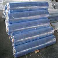 2016 normal clear plastic soft pvc transparent film for bags packing