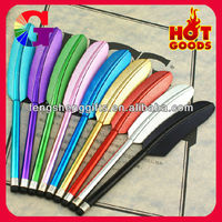 2013 Newest colorful feather touch pen for all touch screens