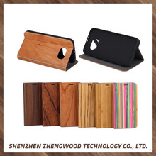 Brand new with high quality wood phone case waterproof wood case for samsung galaxy s7 edge