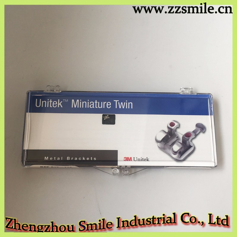 Dental Orthdontic Miniature Twin Roth 022 Metal Brackets 017-114
