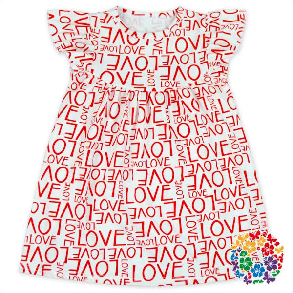 Lovely Baby Girls Red And White Polka Dots Cotton Dress Patterns With Heart Shape Pocket Casual Girls' Valentine's Day Dresses