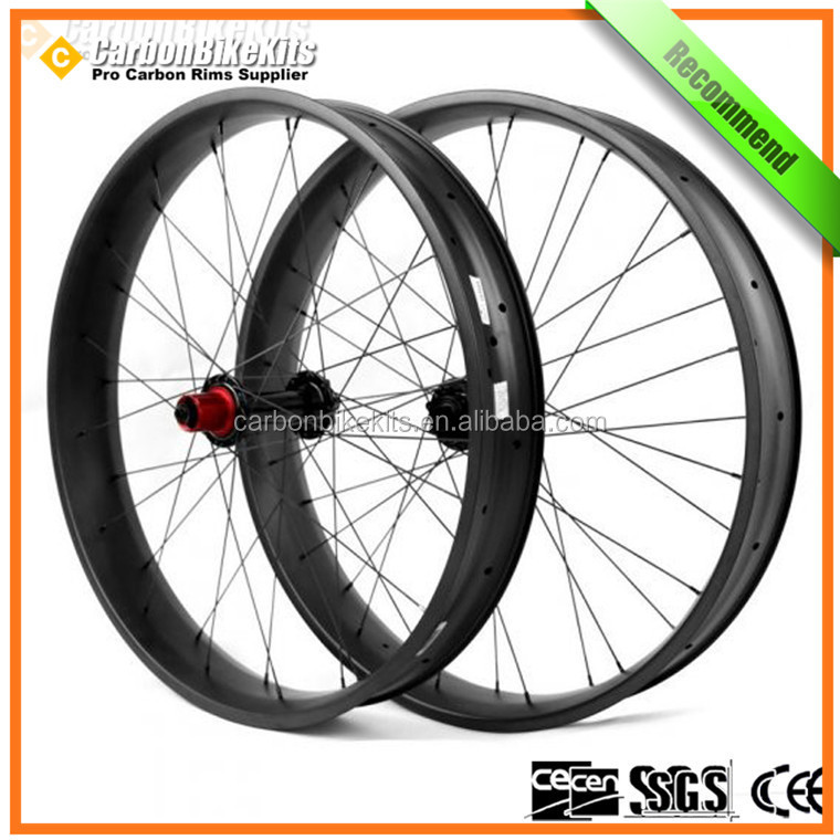 CarbonBikeKits FBW100 26er100mm carbon fat bike wheels