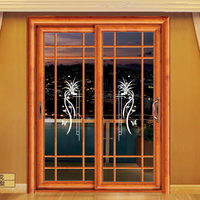 Elegant glass closet doors, sliding glass doors and glass room dividers for morden house decoration