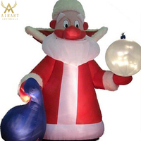 hot sale funny inflatable christmas decorations /inflatable christmas santa claus/santa