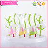 Friendly and convenient anti bacterial sprout drying shelf for baby feeding bottle bpa free
