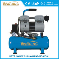 WANDING 9L 550Kw small ac piston portable Dental oilfree silent air compressor