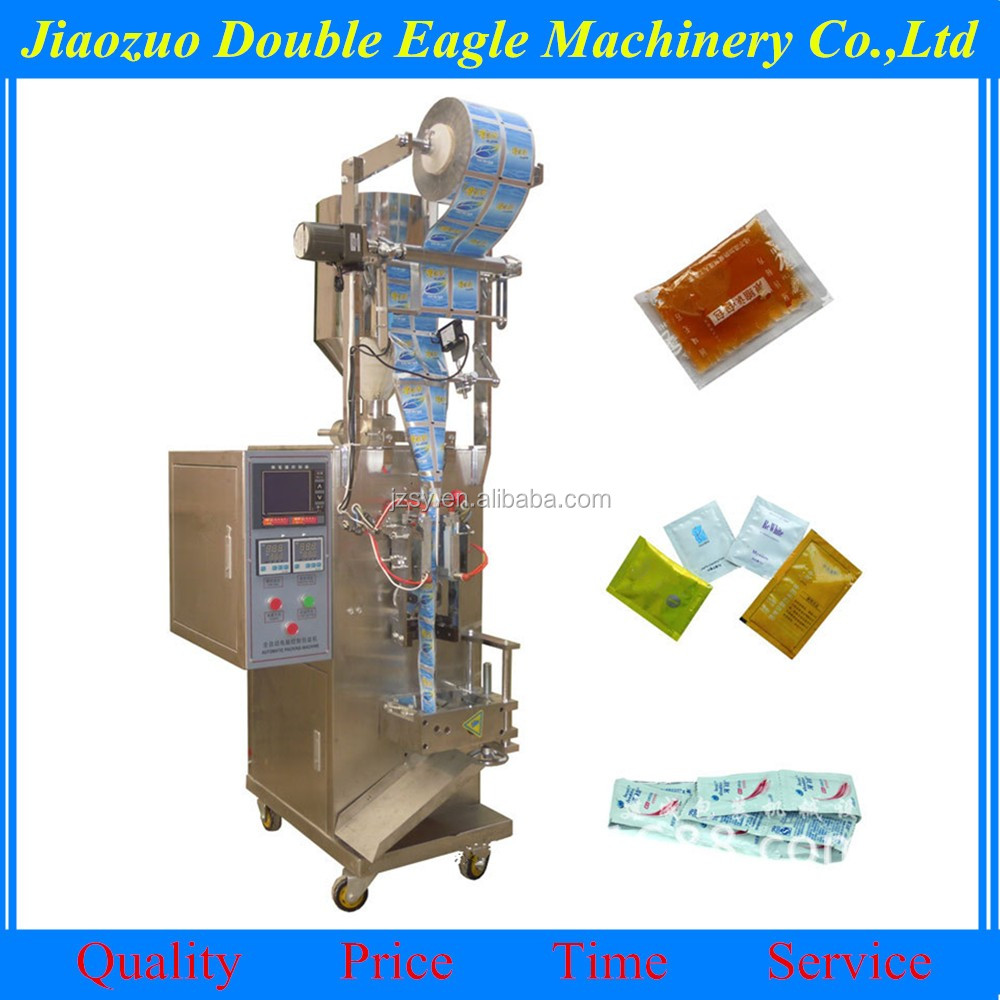 automatic sauce packing machine / peanut butter/tomato sauce sachet packing machine