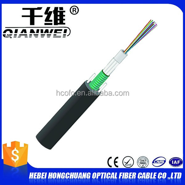 Hejian city 12 core gyxtw optical fiber cable