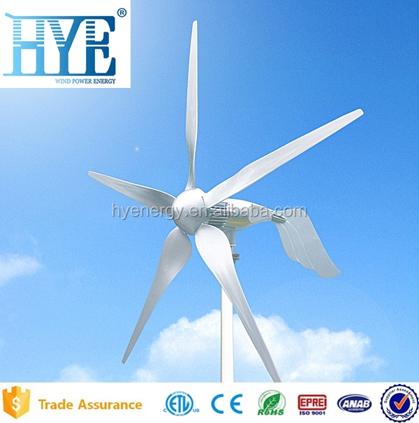 HYE 1.5kw portable windmill for sale