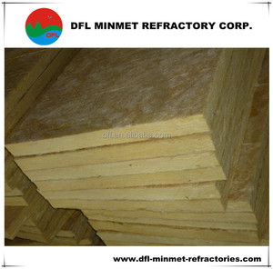Building thermal insulation material mineral rock wool board