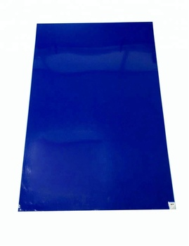white/blue 30layers cleanroom disposable sticky mat