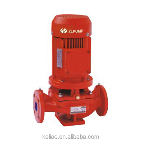 single-stage fire fighting pumping unit