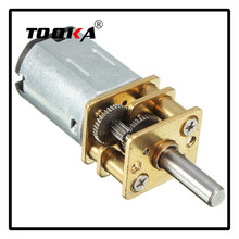 DC 12V 100RPM Gear Motor N20 Mini Electric Gear Box with Gearwheel 3mm Shaft Diameter