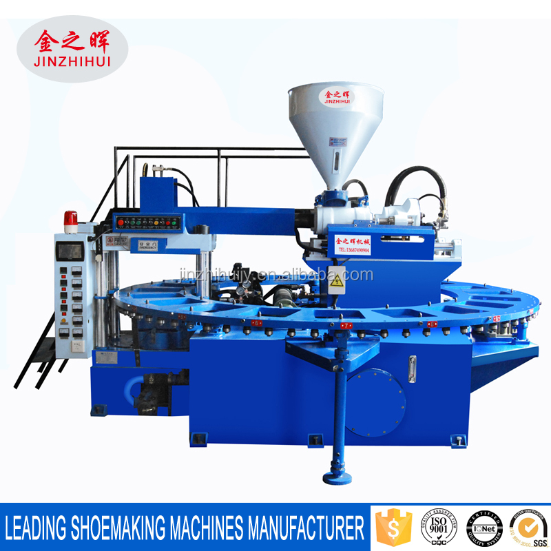 PVC Jelly Air Blowing Shoe Injection Molding Machine 20 Workstations