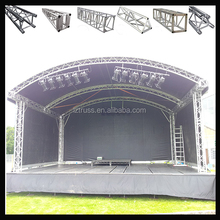 global truss stage dj truss decoration stage aluminum light truss system