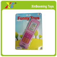 Promotional toys kids musical cell phone