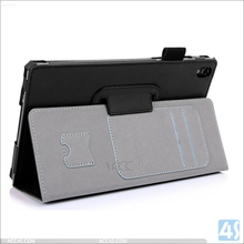 Smooth Texture Flip Leather Case for Lenovo Tab S 8-50 With Handhold