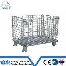 supermarket steel lockable storage cage