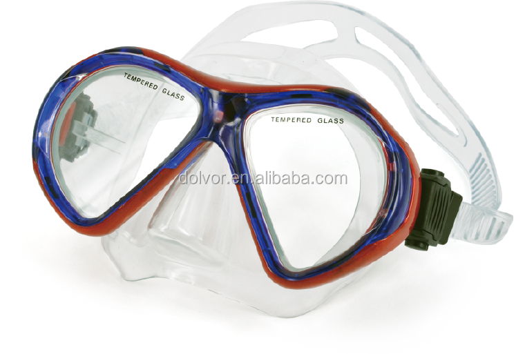 CE sports protection safety swimming diving masks