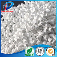White Plastic CaCo3 Filler Masterbatch For Film Blowing & Injection & Extrusion
