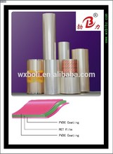 Hot Sell metallized laminating pet film roll with best price