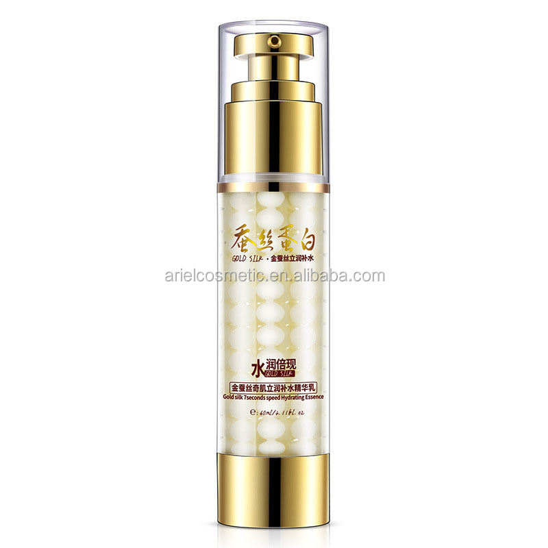 Gold Silk Protein <strong>Face</strong> Cream Lotion with Moisturizing and Deep Hydrating Essence Lotion for Skin Care