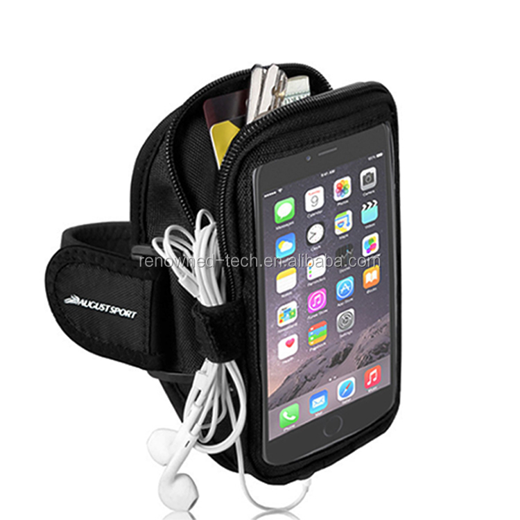 2017 Popular Outdoor Neoprene Running Sports Cellphone Armband For Iphone 8&HTC One,Lazy Arm Phone Holder,Jogging Pouch/Case
