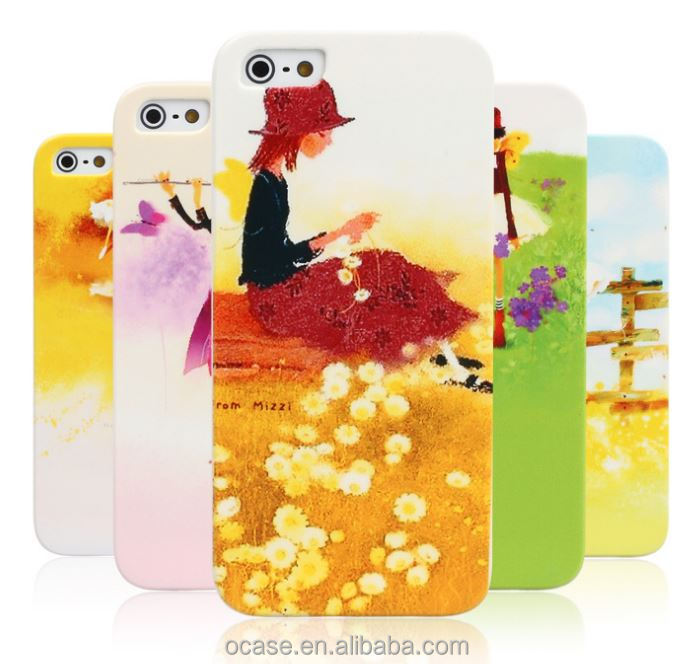 3D Sublimation Arts And Craft Mobile Phone Case For iPhone 6s Case.