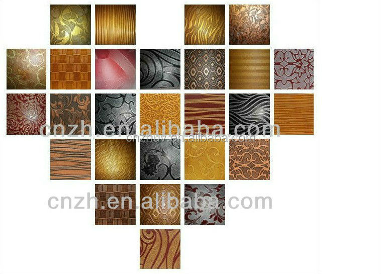 decorative 3d wood embossed mdf wall panel laminated curved wall decoration material