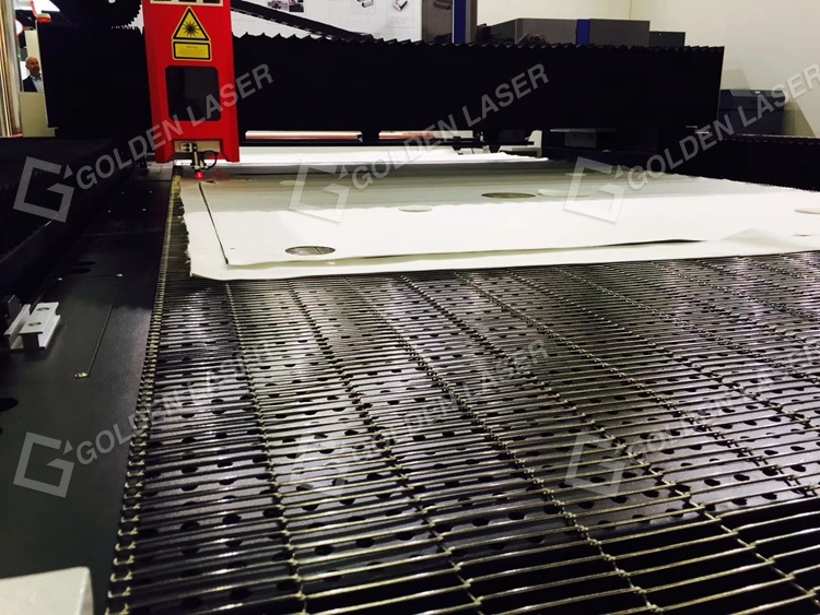Geotextiles Filter Media Laser Cutting System for Textile Industry