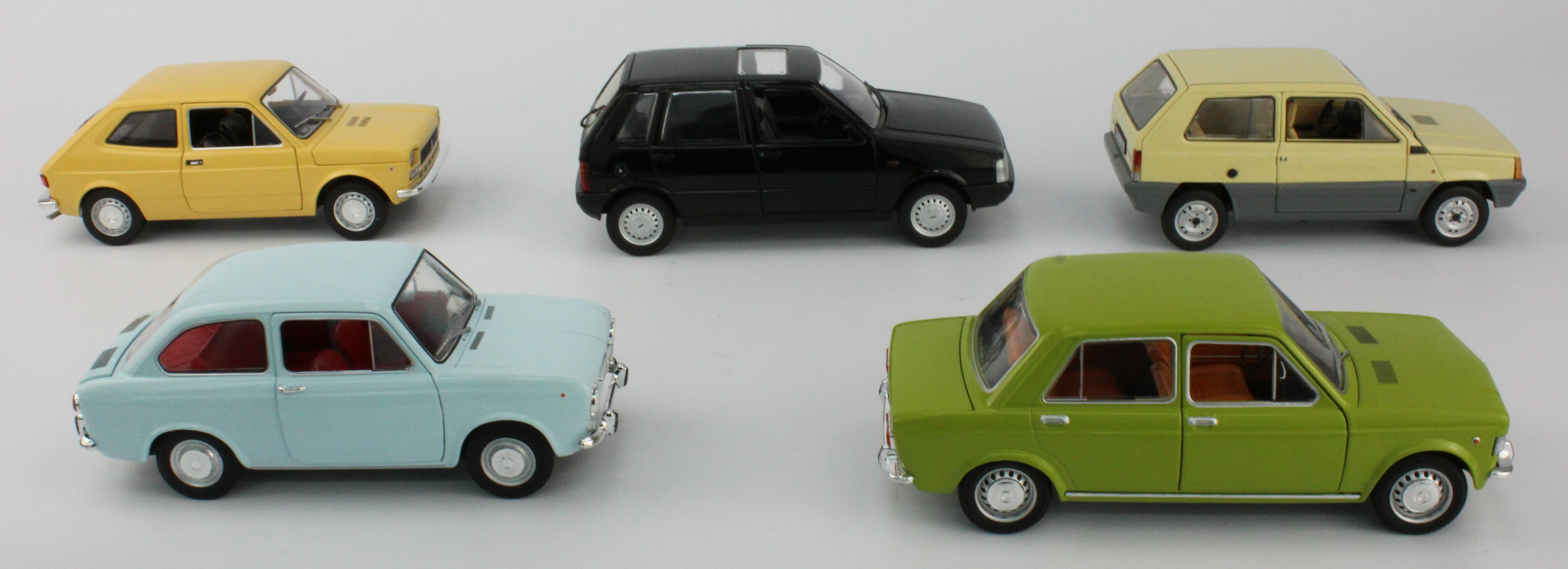 good quality die cast car Fiat Collection