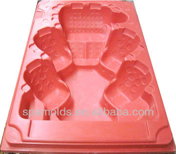 fiberglass reinformance plastic swim spa mold