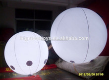 0.2MM PVC Helium led balloon, advertising balloon with LED ligths, inflatable advertising helium balloons manufacturer