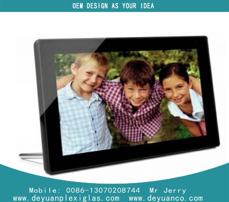 high quality Wedding frame,4 Sides open aluminium acrylic photo frame