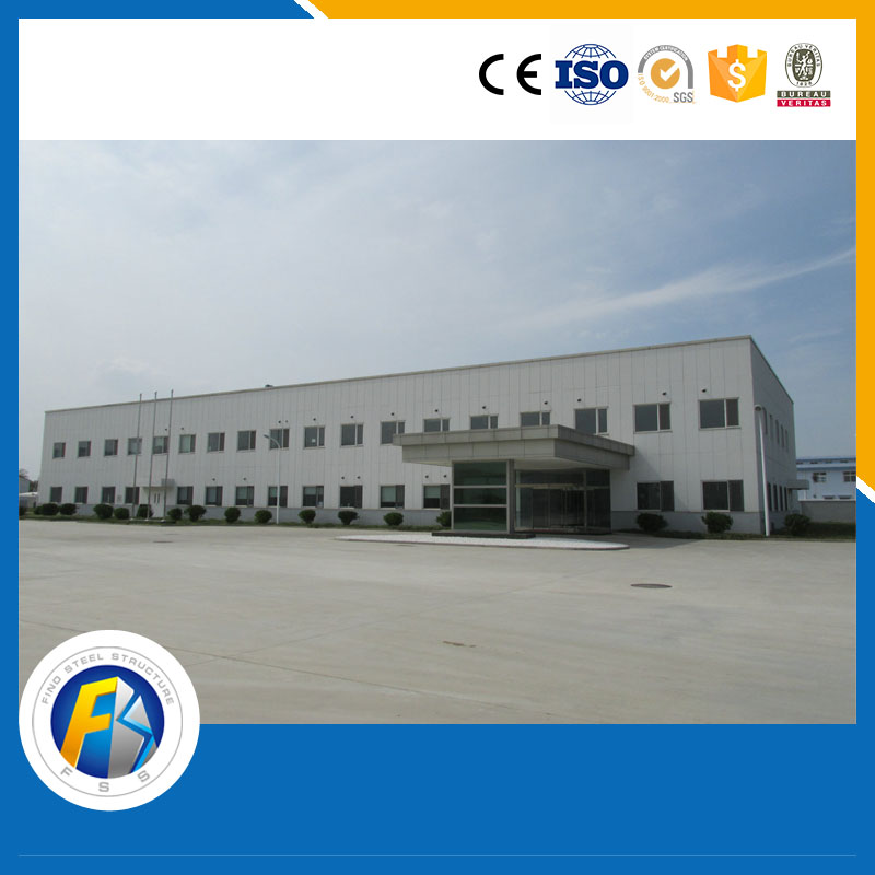 prefab steel structure factory building long-span steel structural buildings